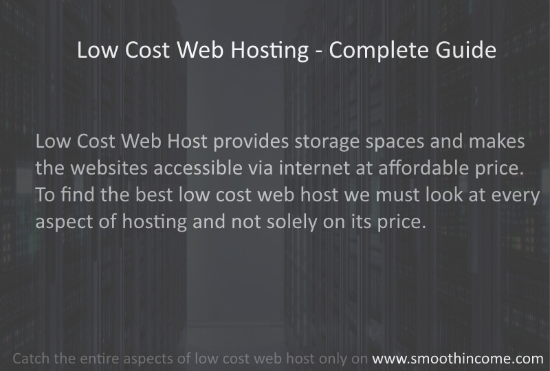 Best Low Cost Web Hosting Services