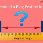 how long should a blog post be for good seo
