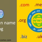 How to register a domain name for a blog