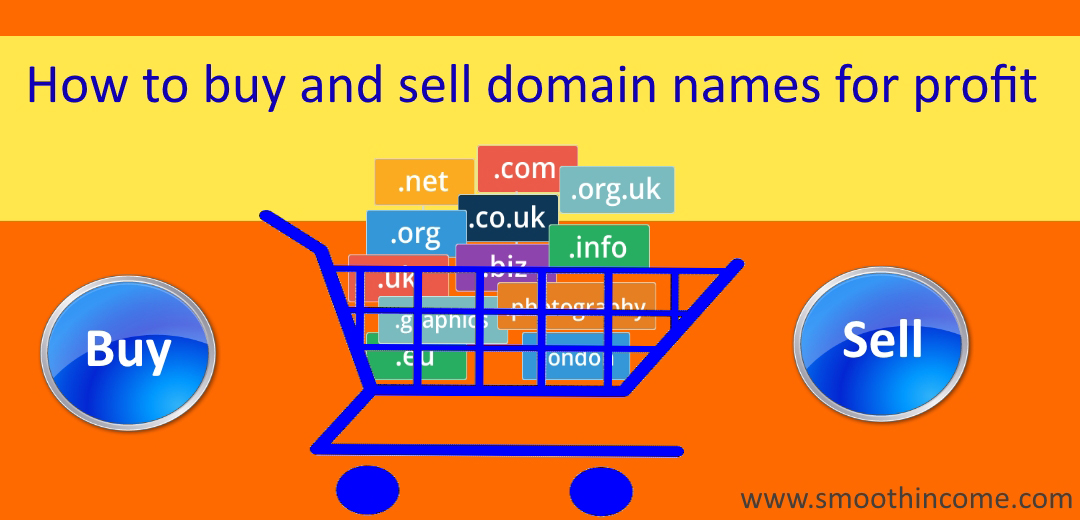 Sell domain name online