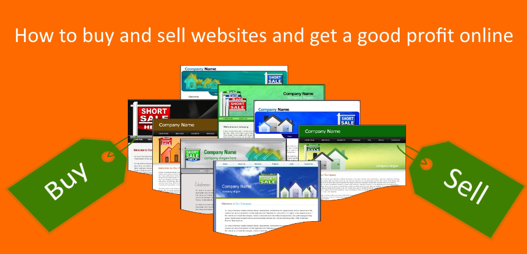 How to buy and sell websites and get a good profit online