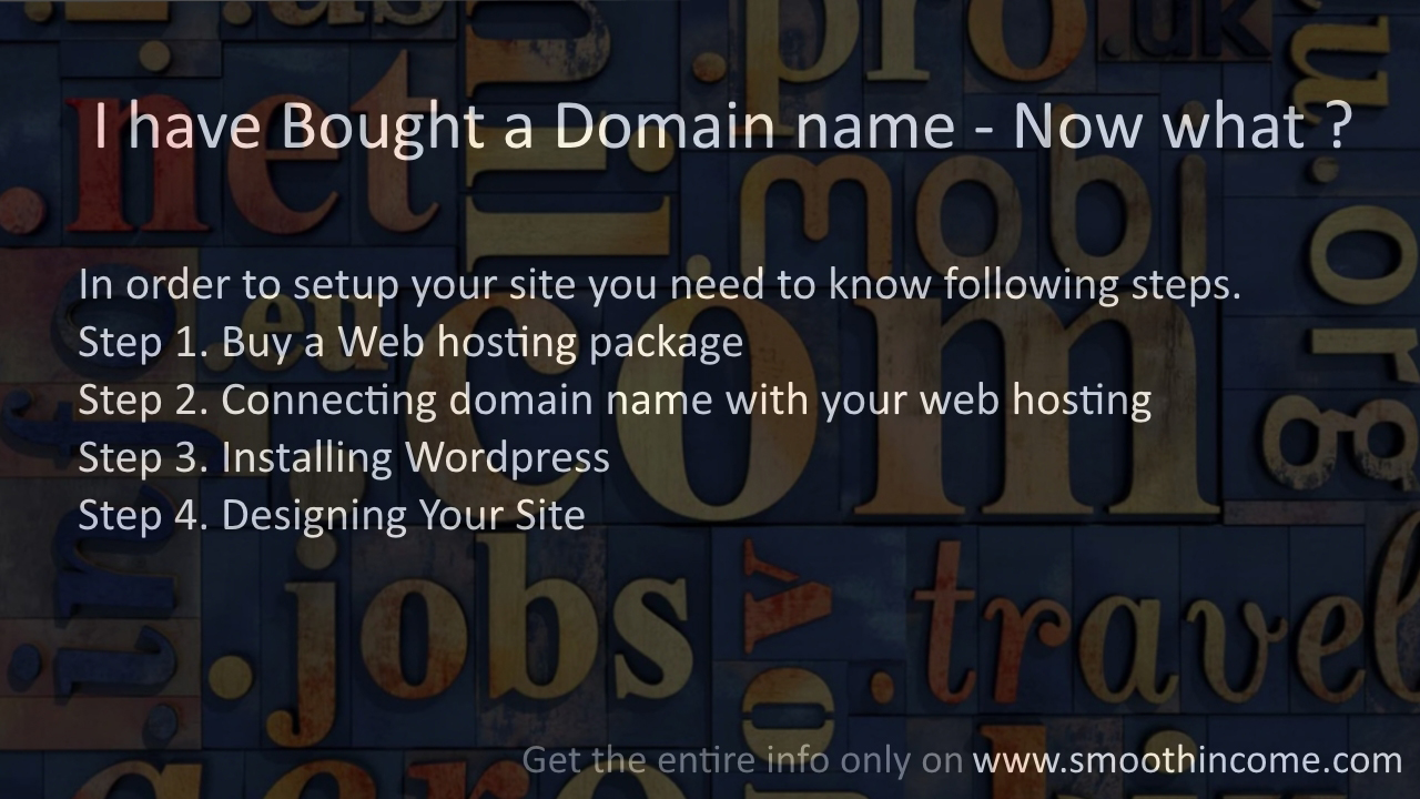 I have Bought a Domain name Now What – Best Guide