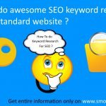How to do awesome SEO keyword research for a standard website