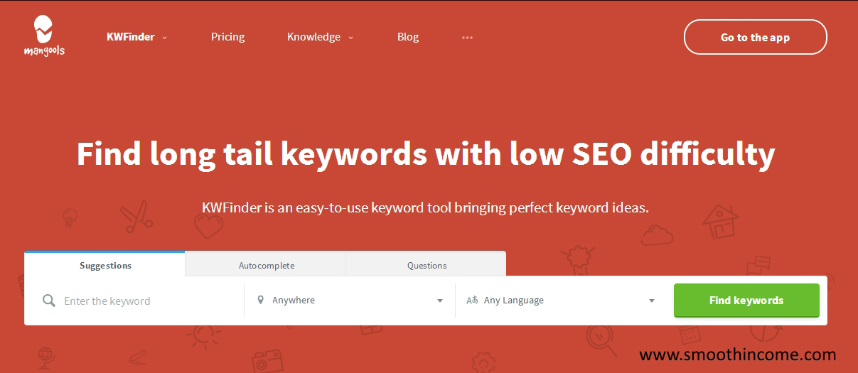 how to choose the right keywords for your website