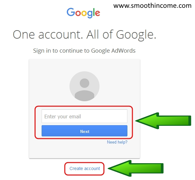 How to use google adwords keyword planner tool st0ep by step guide - Step 1