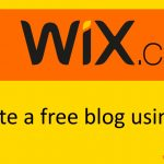 How to create a blog using wix – Start Your Free Site