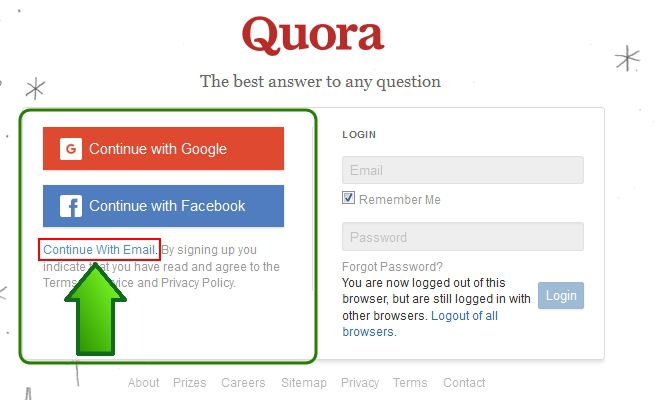 how to create a blog on quora