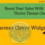 Thrive Themes Clever Widget Review